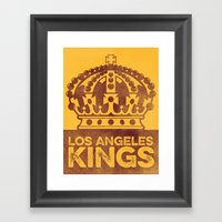 Vintage Kings Framed Art Print