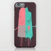 iPhone & iPod Case featuring Non-Identical Twins by Hector Mansilla
