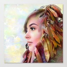 The guradian of the sky Canvas Print
