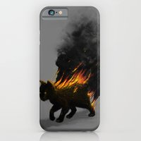 iPhone & iPod Case featuring This Cat Is On Fire! by nicebleed