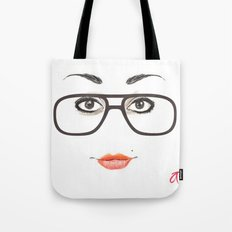 Hipster Eyes 3 Tote Bag