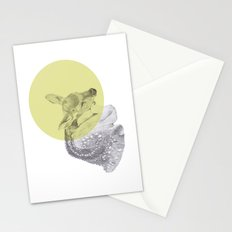 sleep tightly deer Stationery Cards