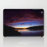 Sunset Over The Lake iPad Case