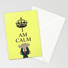 I AM CALM Stationery Cards