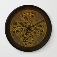Tick-Tock Poem In Circul… Wall Clock