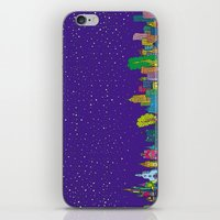 A night on the Town iPhone & iPod Skin