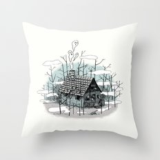 DEEP IN THE HEART OF THE FOREST Throw Pillow