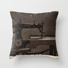 Pfaff Sewing Machine Throw Pillow