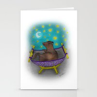 Dreaming Ferret Stationery Cards