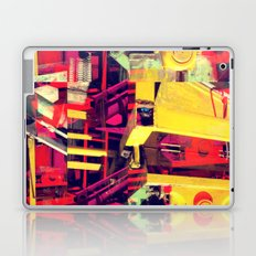 Industrial Abstract Red Laptop & iPad Skin