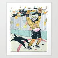 Hockey for the Rest of Us! Art Print