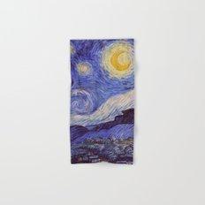 Vincent Van Gogh Starry Night Hand & Bath Towel
