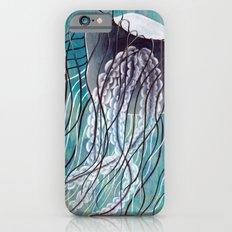 Blue Jelly Slim Case iPhone 6s