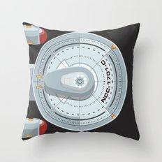 Enterprise - Star Trek Throw Pillow