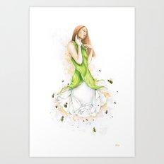 Petite fleur / Little Flower Art Print