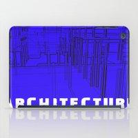 Architecture Blue iPad Case