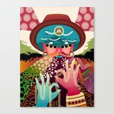 Hypnodellic Canvas Print