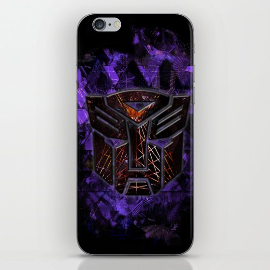 Autobots Abstractness - Transformers iPhone & iPod Skin