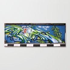 Sticker wall Canvas Print