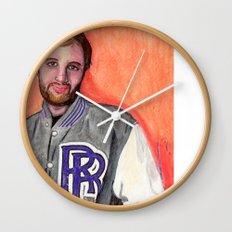 Dan Caffery by Alex Czysz Wall Clock
