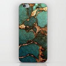 EMERALD AND GOLD  iPhone & iPod Skin