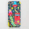 Cats & Flowers iPhone & iPod Case