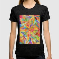 Star Womens Fitted Tee Tri-Black SMALL