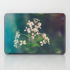 And we spent the hours with submarine flowers iPad Case