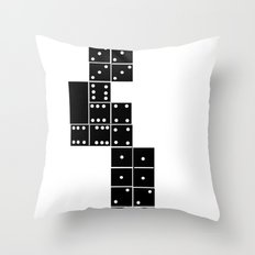 the unfinished game Throw Pillow