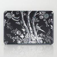 Peacock Tree Denim iPad Case