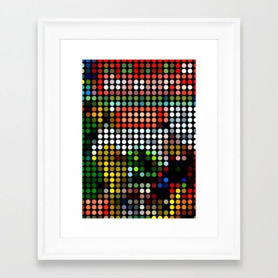 Comic III Framed Art Print
