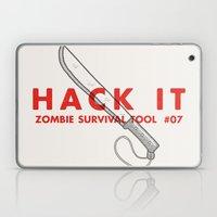 Hack it - Zombie Survival Tools Laptop & iPad Skin