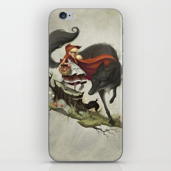 """""""Unto an evil counsellor, close heart and ear and eye..."""" iPhone & iPod Skin"""