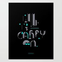 Time To Carry On Art Print