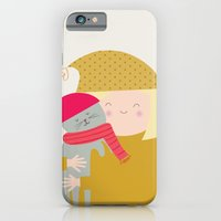 iPhone & iPod Case featuring Cat Lady by Lydia Coventry