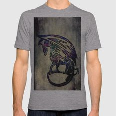 Dragon queen  Mens Fitted Tee Athletic Grey SMALL