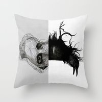 Everything In Its Right … Throw Pillow