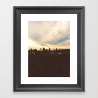 Tall Framed Art Print