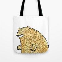 humble bear Tote Bag