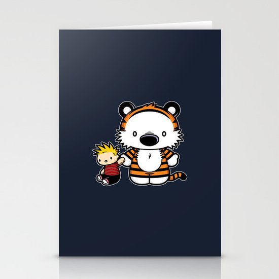 Hello Tiger Stationery Card
