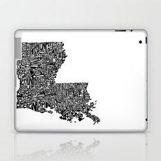 Typographic Louisiana Laptop & iPad Skin