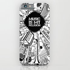 Music is my religion. iPhone 6s Slim Case