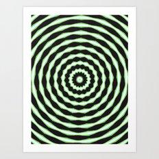 stare hard Art Print
