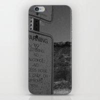 Warning iPhone & iPod Skin