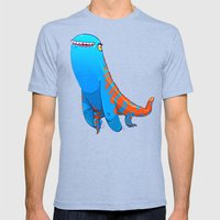 Derp Mens Fitted Tee Tri-Blue SMALL