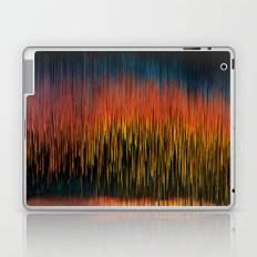Pixel Planet Sunset Laptop & iPad Skin