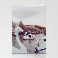 Inokashira Swans Stationery Cards