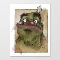 Ogre George Canvas Print