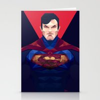superman Stationery Cards featuring Superman by Muito