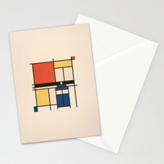 Mondrian Who Stationery Cards